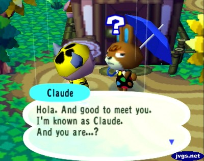 Claude: Hola. And good to meet you. I'm known as Claude. And you are...?