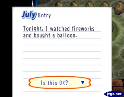 July Entry: Tonight, I watched fireworks and bought a balloon.