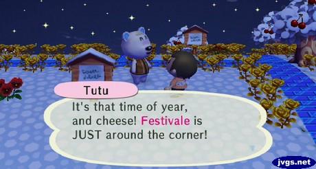 Tutu: Festivale is right around the corner!