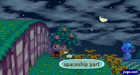 Finding the spaceship part.
