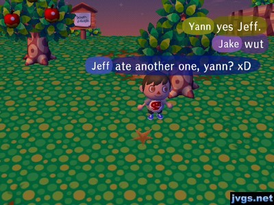 Jeff: Ate another one, Yann? xD