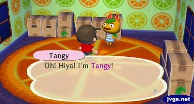 Tangy: Oh! Hiya! I'm Tangy!