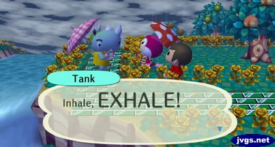Tank: Inhale, EXHALE!