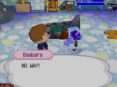 Baabara: NO WAY!