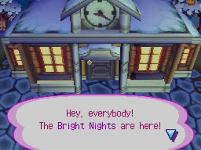 Hey, everybody! The Bright Nights are here!