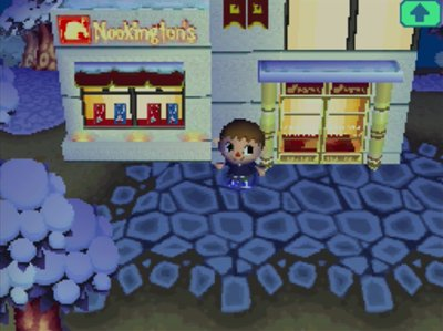 Nookington 39 s grand opening jeff 39 s acww blog - Animal crossing wild world hair salon ...
