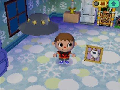 Chevre's pic in Animal Crossing: Wild World.