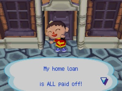 Me, celebrating: My home loan is ALL paid off!
