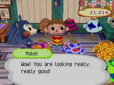 Mabel: Wow! You are looking really, really good!