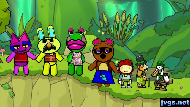 Animal Crossing characters created in Scribblenauts Unlimited