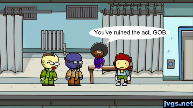 Arrested Development characters in Scribblenauts Unlimited