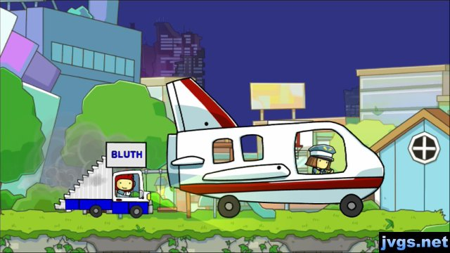 The Bluths' staircar (from Arrested Development) in Scribblenauts Unlimited