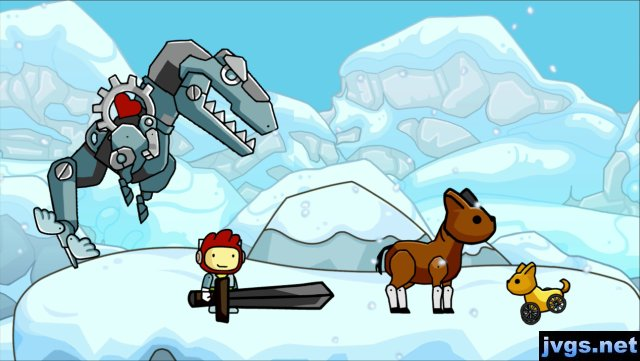 User creations in Scribblenauts Unlimited