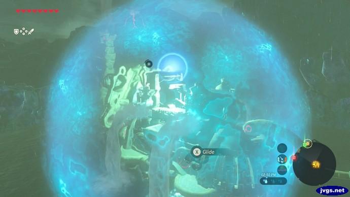 I bounce off a force field surrounding Ruta.