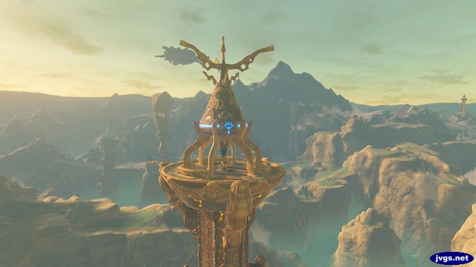 Activating Tabantha Tower.