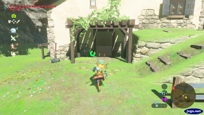 My house in Zelda: Breath of the Wild on Nintendo Switch.