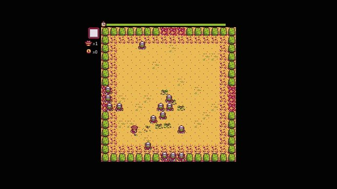 The Journey of the Prairie King mini-game in Stardew Valley.