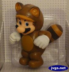 Tanooki Mario collectible figure.