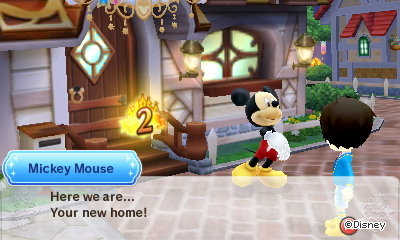 Mickey Mouse: Here we are... Your new home!