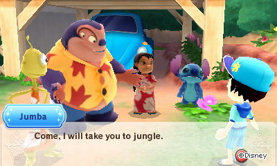 Jumba: Come, I will take you to the jungle.