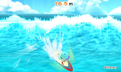 Surfing in Disney Magical World 2.