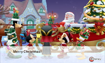 Santa: Merry Christmas. Disney Magical World 2.