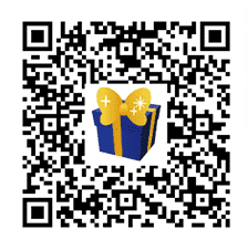 A QR code that unlocks some New Year items in Disney Magical World 2.