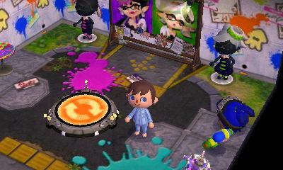 A Splatoon themed room in T.Zelda's town of Hyrule.