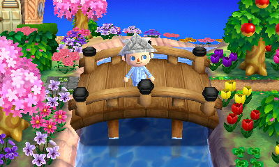A beautiful bridge in the dream town of Scarlett.