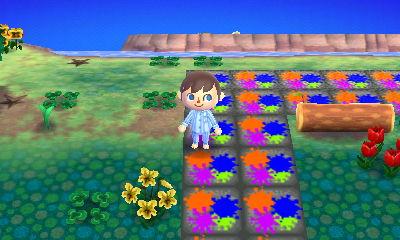 Weeds in Nintendo's dream town.