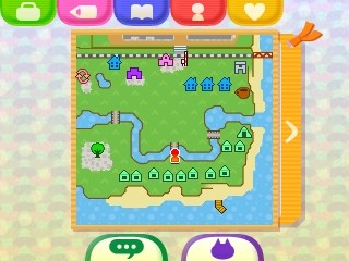 The town map of Hotel Dojo.