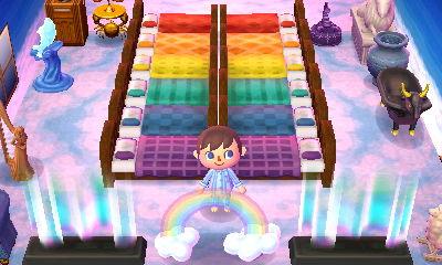 Rainbow beds.