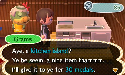 Kitchen Island New Leaf plain kitchen island new leaf family animal crossing happiness