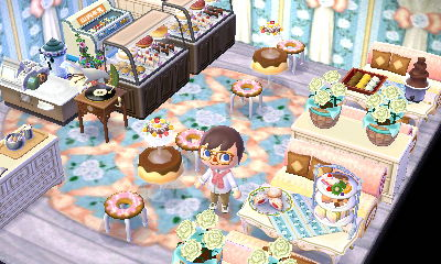 A bakery in the dream town of Pastelia.