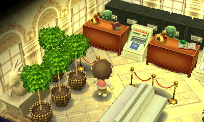 A bank vault in the dream town of Pastelia.