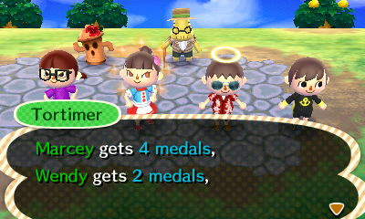 Acnl Island Tour Medals