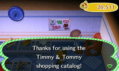 Thanks for using the Timmy & Tommy shopping catalog!