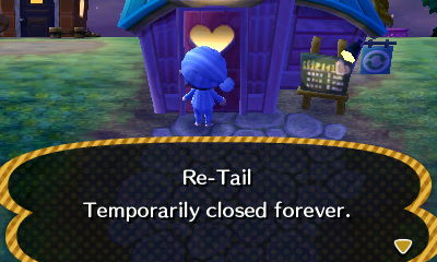 Re-Tail: Temporarily closed forever.