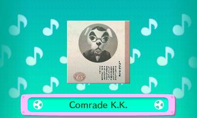 CD album cover for Comrade K.K.