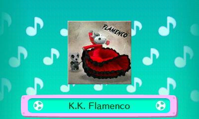 The CD album cover of K.K. Flamenco.