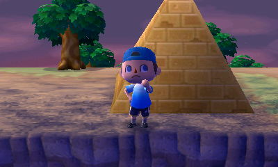 Standing next to my new pyramid PWP.