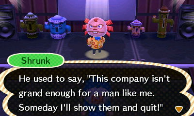 """Shrunk: He used to say, """"This company isn't grand enough for a man like me. Someday I'll show them and quit!"""""""