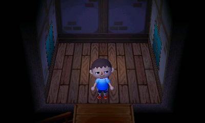 My new (small) second-floor room.