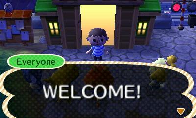 Everyone: WELCOME!
