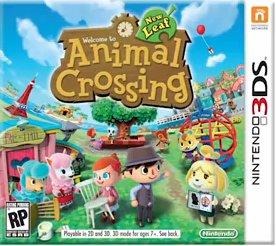 Box art for Animal Crossing: New Leaf.