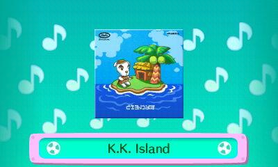 The CD album cover for K.K. Island.