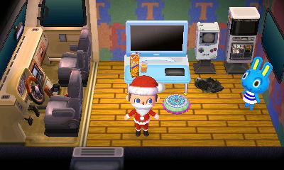Gaming items (including a giant Game Boy) in Hopkins' RV.
