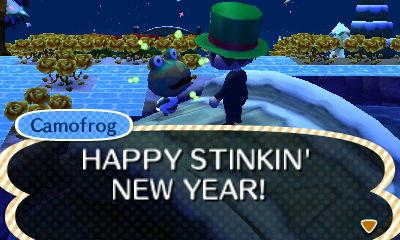 Camofrog: HAPPY STINKIN' NEW YEAR!