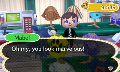 Mabel: Oh my, you look marvelous!