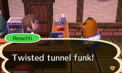 Resetti: Twisted tunnel funk!